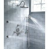 Found it at Wayfair - Portsmouth Central Dual Shower Faucet Trim Kit with Lever Handle