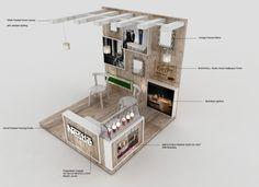 NESTLE LEADERSHIP - Activation Stand Kiosk Design, Cafe Design, Retail Design, Exhibition Stall, Exhibition Stand Design, Corner Table Designs, Exibition Design, Food Cart Design, Stand Feria