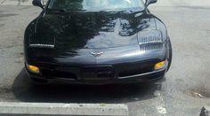 Eyelashes on a Corvette!