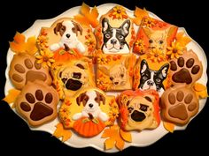Donation Cookies for a Local Dog Rescue | Cookie Connection
