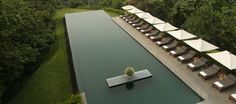 Located high above the Ayung River, Alila Ubud offers a unique resort experience inclusive of Balinese & international cuisine with modern accommodation of panoramic views of the magical Ayung River and surrounding volcanoes.