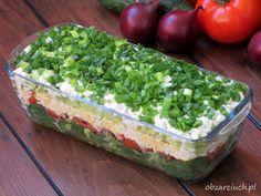 Slow Food, Guacamole, Salad Recipes, Lunch Box, Food And Drink, Menu, Cheese, Ethnic Recipes, Impreza