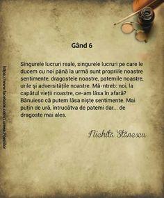 Gand 6-Nichita Stanescu Words Quotes, Deep Quotes, Literature, Poems, Love, Happy, Zen, Happiness, Photography