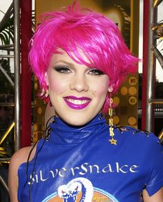 The Most-Memorable Beauty Looks From the MTV Movie Awards - 2001, Pink from #InStyle