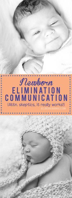 How to use elimination communication with a newborn. Tips, daily routine, and results | Jellibeanjournals.com