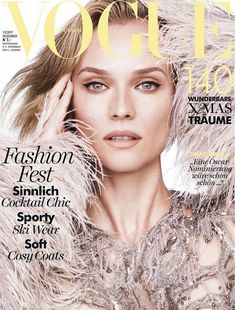 Magazine photos featuring Diane Kruger on the cover. Diane Kruger magazine cover photos, back issues and newstand editions. Vogue Magazine Covers, Fashion Magazine Cover, Fashion Cover, Vogue Covers, Women's Fashion, Anna Ewers, Daniel Jackson, Toni Garrn, Patrick Demarchelier