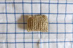 Éponge grattante tricotée avec de la ficelle #diy #greenlife