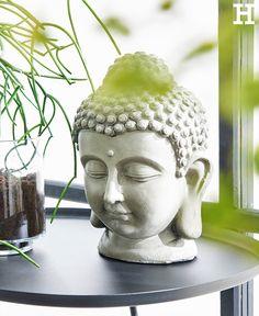 Ein Buddha steht für innerern Frieden durch Erleuchtung - wer möchte das nicht.#buddha #deko #figur #kopf #ruhe
