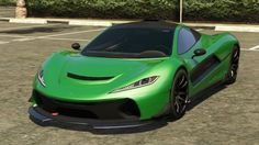 Green Progen T20 GTA 5