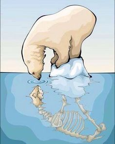 Tragic consequences of global warming, landfill and pollution Save Mother Earth, Save Our Earth, Global Warming Poster, Global Warming Drawing, Art Environnemental, Environmental Art, Art Projects, Street Art, Urban Art