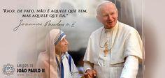 Frases do Papa João Paulo II