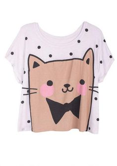 Cat Mania Tee - View All Graphic Tees - Graphic Tees - dELiA*s