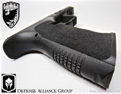 This is a project we have been working on with Defense Alliance Group (DAGr) out of Florida. A new up & coming company to keep your eye on. Details below..... LoneWolf/ G19: Front Strap Profiled/ Double Undercut Trigger Guard/ FCP/ Recessed Border/ Carbide Grip package Red Letter Industries: Cerakote H-146 Graphite Black