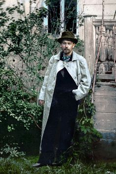 colorized by Klimbim // Russian playwright and short-story writer, who is considered to be among the greatest writers of short fiction in history // source: klimbim2014.wordpress.com Band On The Run, Anton Chekhov, Russian Literature, Famous Novels, Writers And Poets, Historical Art, Book Of Life, Famous People, Cinema