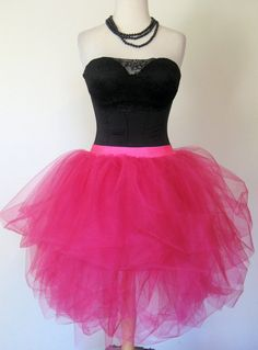 Dz9nr 80s Style Prom Gown Skirt for Teens Women by Dz9nr on Etsy