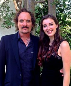 Photo of Kim Coates & his  Daughter  Kyla Coates