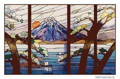 宇野沢ステンドグラス製作所 富士山