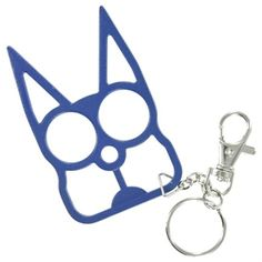 Wild Cat Knuckle Key Chain Blue--ooohh i like this--i see trouble i went to the site it is awesome --i'll be back