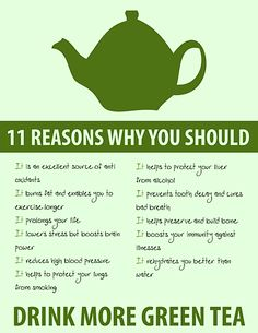 The awesome-ness of green tea!