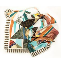 Limited-Edition Silk Scarves by Heart Heart Heart | MONOQI