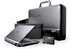 In November 2006, at the same time that Casino Royale was released, Sony launched several Bond branded electronics. A real collector's item is the Sony VGN-TX007C Spy Gear set.