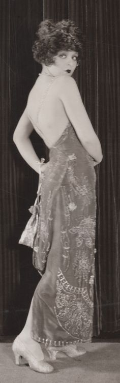 Devil Horn Hair Bow ☆ Clara Bow (age 20) ☆ Kiss Me Again (1925) ☆ Directed by Ernst Lubitsch ☆