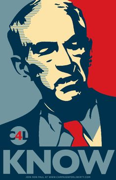 In the House, they call Ron Paul Dr. No. Not because of his intractability, but for his knowledge of issues.