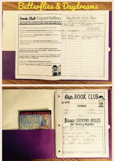 Buzzin' in Book Clubs! Unit Resources for Grades 3-5