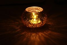 Golden Baubles - #Buy #Wholesale #Handmade Set of 2 Mercury #Glass #Tealight / #CandleHolders - #Handmade Votive #Candle Holders - Table Top Essentials / #HomeDecor & Housewarming Gifts