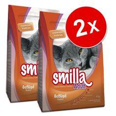 Animalerie  Lot Smilla 2 x 4 kg pour chat  Adult XXL au poulet