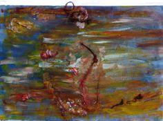"""Artist: Lijda Zuijderuijn; Acrylic om canvas. """"Yellow Red Roses"""""""