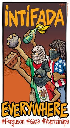 Intifada Everywhere | The Palestine Poster Project Archives