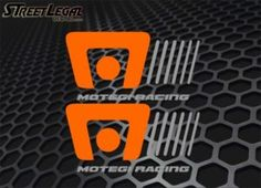 "2 Motegi Racing Wheels 8"" Vinyl Decals"