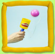 Reusing play doh cans