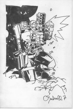 Cable by Chris Bachalo *
