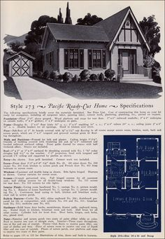 Design No. 273  from Pacific's Book of Homes — Pacific Ready Built Homes