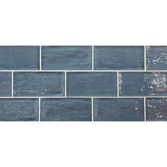 Rustico Tourmaline Brick Tile | 7.5x15cm Ceramic Planet Brick Tiles, Brick Wall, Metro Tiles, Tiles Online, Ceramic Wall Tiles, Handmade Tiles, Underfloor Heating, Cheap Kitchen, Wall And Floor Tiles