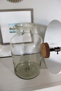 Glass Jar Lamp