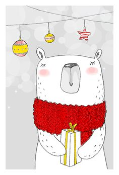 Funny Illustration Christmas Art Prints New Ideas Funny Christmas Gifts, Noel Christmas, Christmas Humor, Winter Christmas, Christmas Crafts, Christmas Design, Christmas Ideas, Illustration Noel, Winter Illustration
