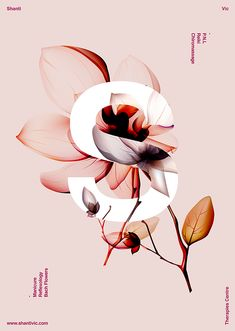 Botanical S design. // Fall 2015 Fashion and Retail Trends: Metallics and Botanicals - Step Brightly