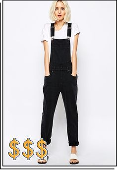 Black dungarees are a thing and you want them