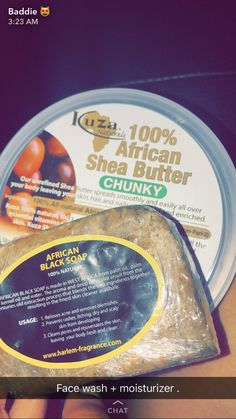African black soap and Shea butter Beauty Care, Beauty Skin, Health And Beauty, Beauty Tips, Diy Beauty, Beauty Hacks, Skin Tips, Skin Care Tips, Face Skin