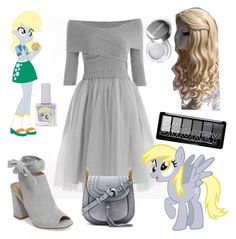"""Derpy - MLP"" by vitorialn ❤ liked on Polyvore featuring Rayne, My Little Pony, Kristin Cavallari and Chloé"