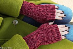 Heartbeat Mitts