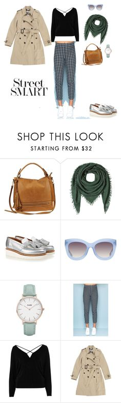 """Mon guide à Moscou"" by natalyaaravina on Polyvore featuring мода, Urban Expressions, Faliero Sarti, Grenson, Alice + Olivia, CLUSE, River Island и Burberry"