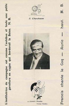 391 No. 14 (Paris, November 1920) Edited by Francis Picabia page 5