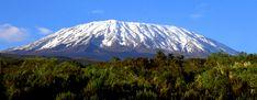 Mount Kilimanjaro (Wikipedia, GNU)