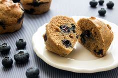 blueberry protein muffins