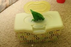 homemade ginger: Green Project for a Green Day--Cloth Wipes & Solution
