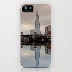 Reflections of the Shard iPhone Case by Lynn Bolt - $35.00